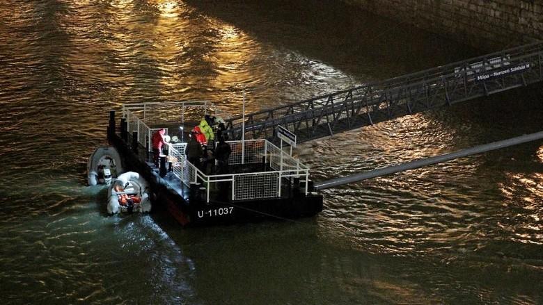 Kapal Wisata Tenggelam di Budapest, 7 Turis Korsel Tewas dan 19 Hilang