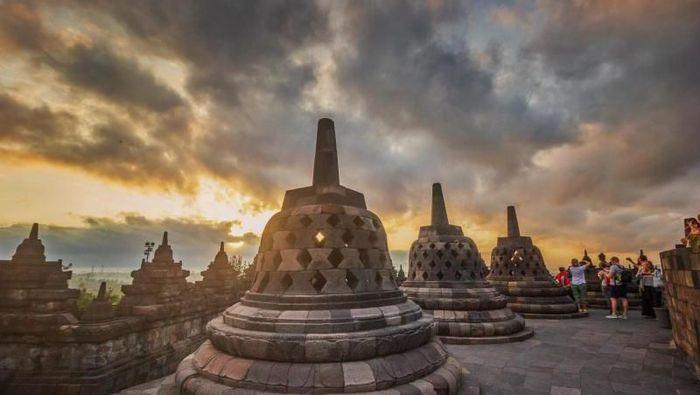 Candi Borobudur. Foto: (Teguh Tofik Hidayat/dTraveler)