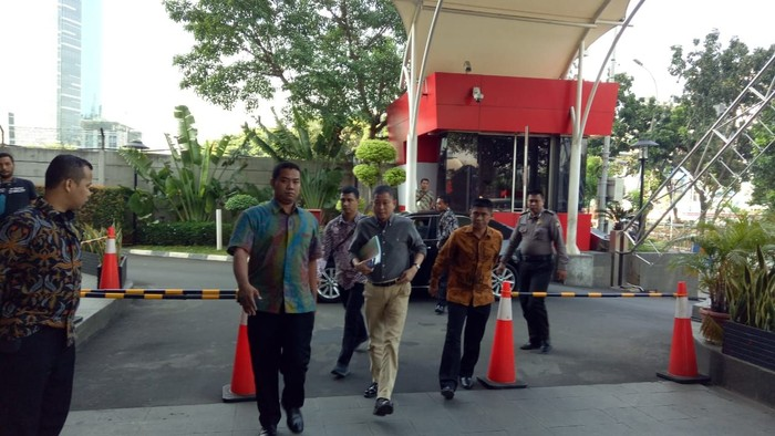 Jonan datangi KPK (Foto: Zunita Putri/detikcom)