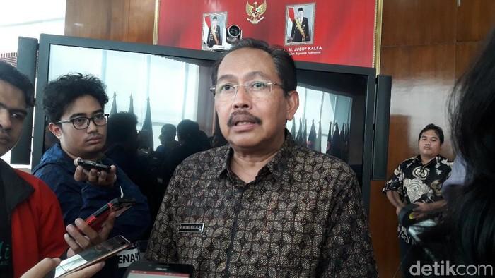 Deputi Bidang pencegahan dan Kesiapsiagaan BNPB, Wisnu Widjaja,