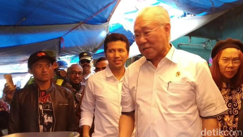 Sidak Pasar di Malang, Mendag Sebut Harga Daging di Jawa Timur Termurah