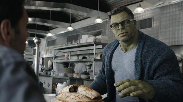 Marvel Studios' AVENGERS: ENDGAME..Hulk (Mark Ruffalo)..Photo: Film Frame..©Marvel Studios 2019