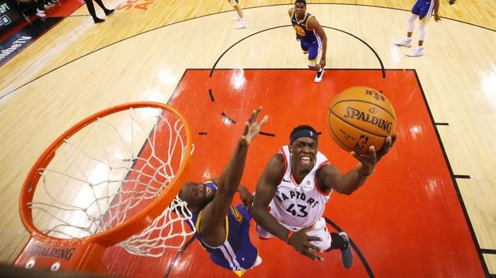 Toronto Raptors bungkam Golden States Warriors di gim pembuka final NBA Foto: (Photo by Gregory Shamus/Getty Images)