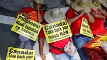 Perseteruan Diplomatik, Filipina Kirim Balik Berton-ton Sampah ke Kanada