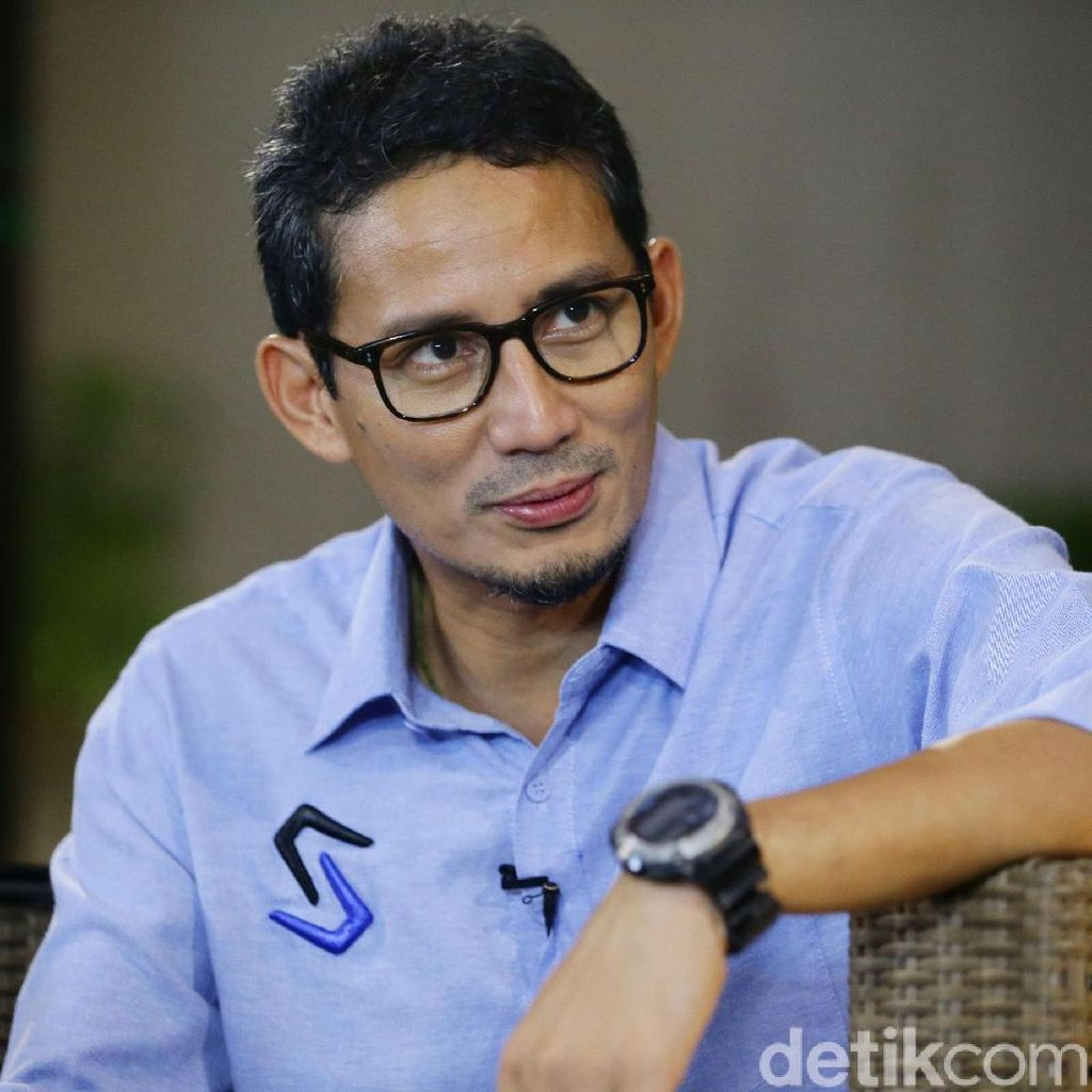 Sandiaga: Membangun Indonesia Bisa di Dalam atau di Luar Pemerintahan