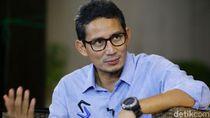 Bandingkan dengan Maruf, Sandi: Saya Mundur dari Korporasi saat Pilgub