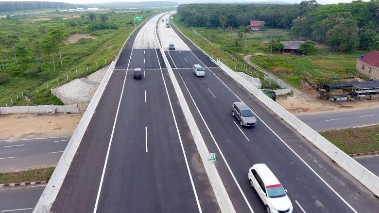 Mudik Tol Sumatera Lancar Jaya, Bakauheni-Bandar Lampung 45 Menit!