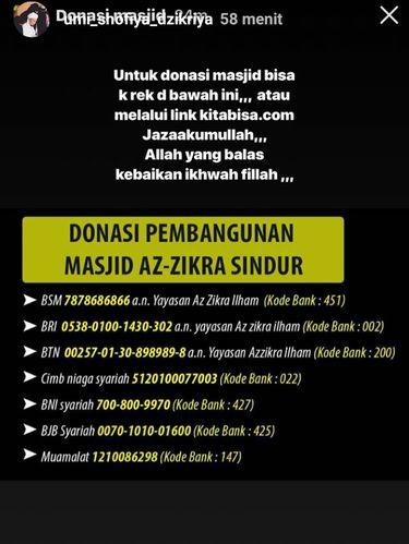 Ustaz Arifin Ilham Meninggal, Keluarga Galang Dana untuk Masjid Az-Zikra