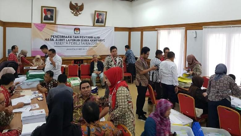 KPU Terima Hasil Audit Dana Kampanye Capres dari Auditor