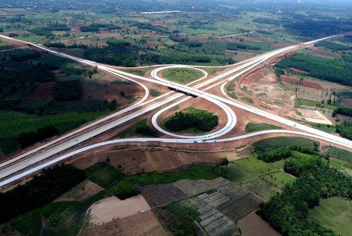 Kementerian Pekerjaan Umum dan Perumahan Rakyat (PUPR) menyiapkan jalan tol sepanjang 503 kilometer (km) di Sumatra untuk menyambut mudik Lebaran tahun 1440H/2019 ini. Dok. Hutama Karya.