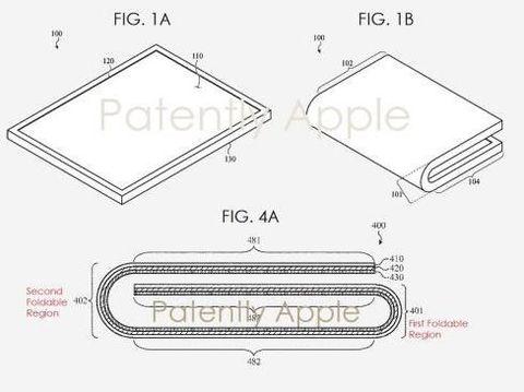 Bocoran Paten Tampilkan Wujud Perangkat Layar Lipat Apple