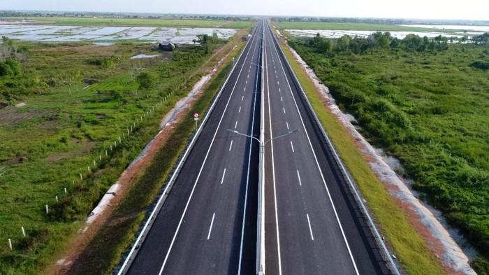 Ada lebih banyak ruas tol di Trans Sumatera yang bisa dilewati saat mudik Lebaran tahun ini. Berikut daftarnya.
