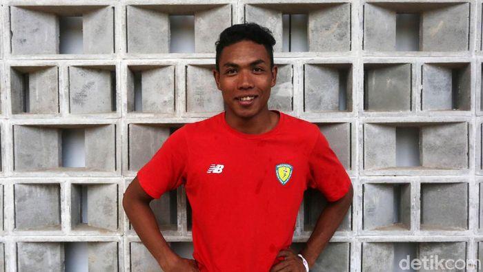 Lalu Muhammad Zohri tak terbendung di Kejuaraan Nasional Atletik 2019. (Foto: Agung Pambudhy)