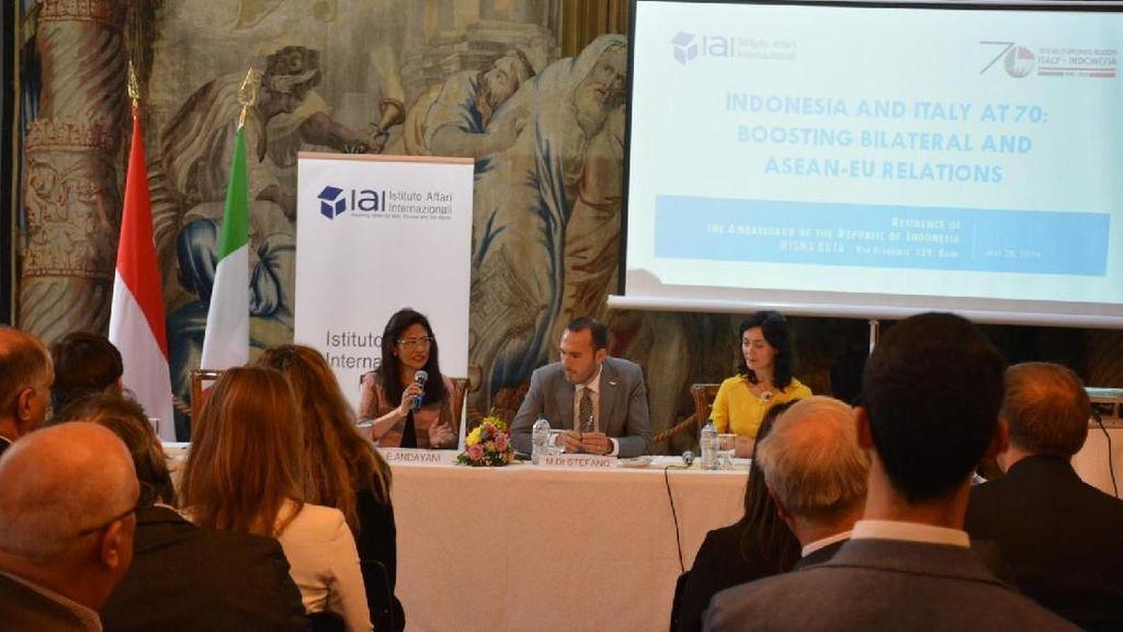 Wakil Menteri Luar Negeri Italia Dorong Kerja Sama dengan Indonesia