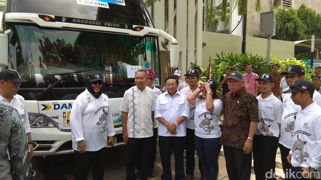Lepas 556 PNS Mudik, Basuki Ingatkan Upacara 1 Juni