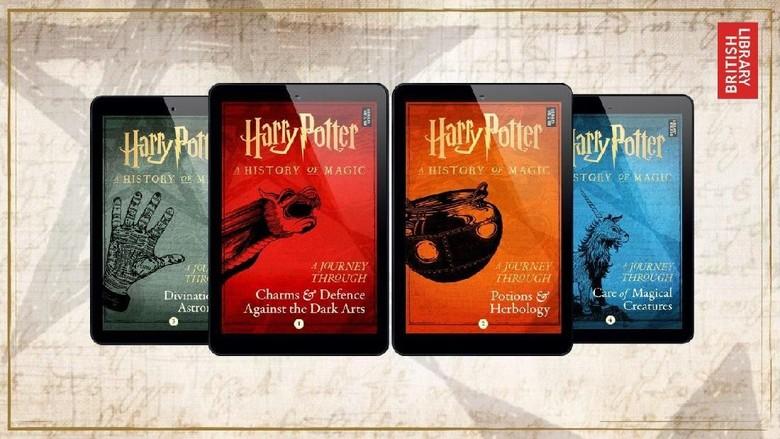 4 Buku Baru Harry Potter Gali Lebih Dalam Lagi soal Sejarah Sihir Foto: Pottermore/ Istimewa