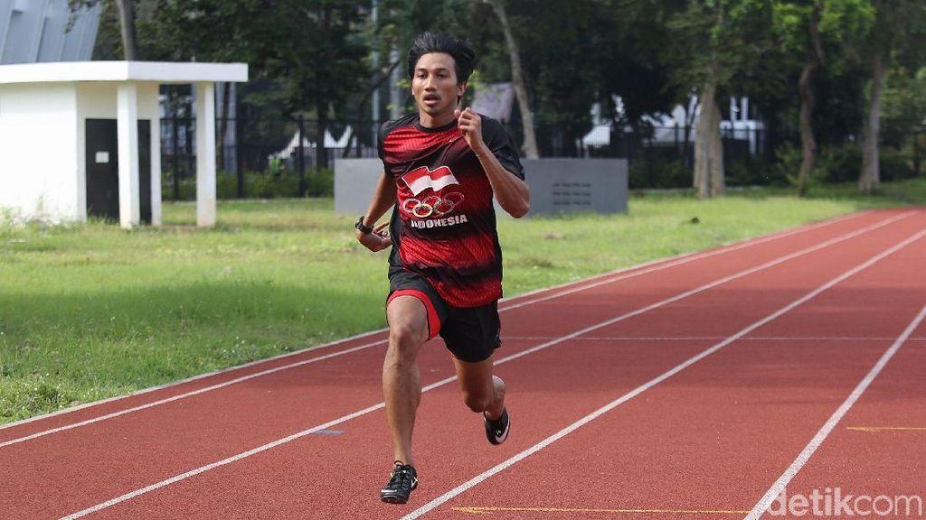 Terinspirasi Zohri, Eko Rimbawan Tergiur Tiket Olimpiade