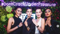 Nama Alicia Amin memang terkenal tak hanya di Malaysia, ia juga pernah hadir bersama Gigi Hadid dalam sebuah acara jam tangan mewah. Dok. Instagram/hangriii
