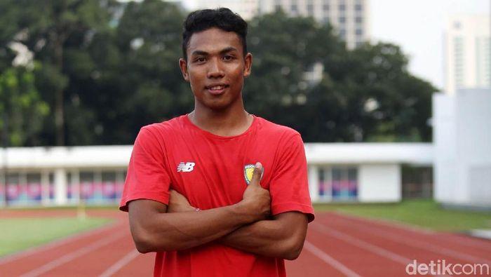 Lalu Muhammad Zohri mudik ke Lombok karena tak turun di SEA Games 2019. (Foto: Agung Pambudhy/detikcom)