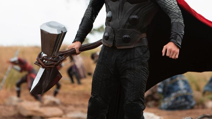 Chris Hemsworth, pemeran Thor berpenghasilan US$ 76,4 juta setahun terakhir Foto: Istimewa