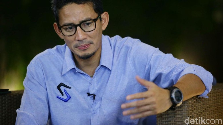 Prabowo Calon Menhan, Sandiaga Bicara Dukungan untuk Omnibus Law Jokowi