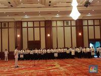 Nuansa Putih, Sri Mulyani Pimpin Upacara Hari Lahir Pancasila