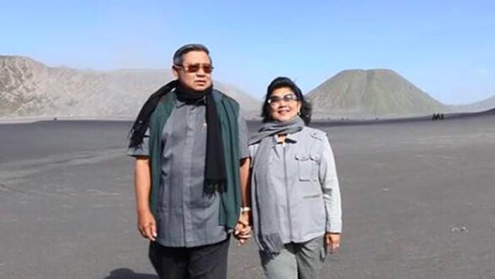 Kemesraan SBY dan Ani Yudhoyono