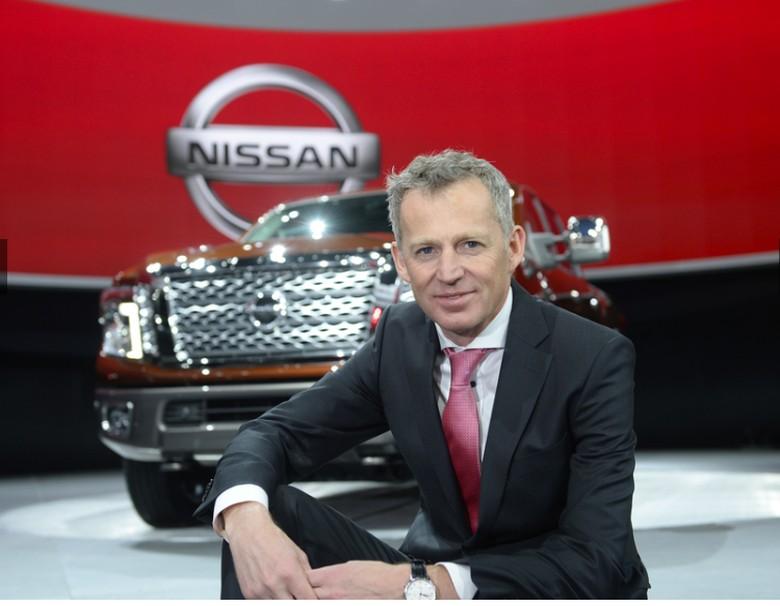 Corporate Vice President Nissan Motor Co Roel de Vries Foto: dok. Nissan
