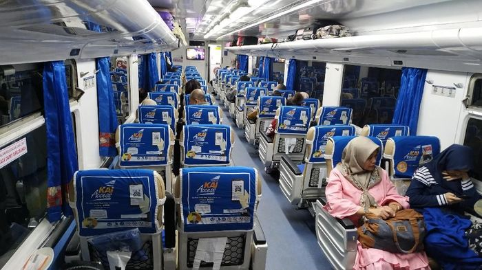 Kereta Ciremai 2/Foto: Mukhlis Dinillah/detikcom