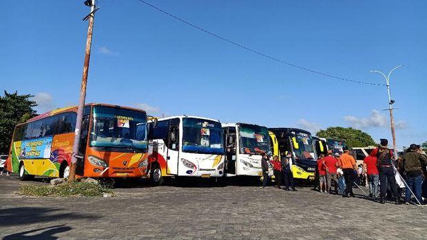 7 Bus disiapkan untuk angkut pemudik.