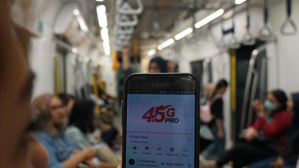 Banyak Konsumsi Video, Trafik Data Lebaran Tri Melonjak 40%