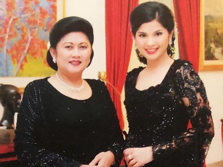 Ani Yudhoyono dan Annisa Pohan Foto: Dok. Instagram/annisayudhoyono
