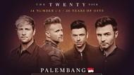 Banyak Peminat, Westlife Gelar Konser di Palembang