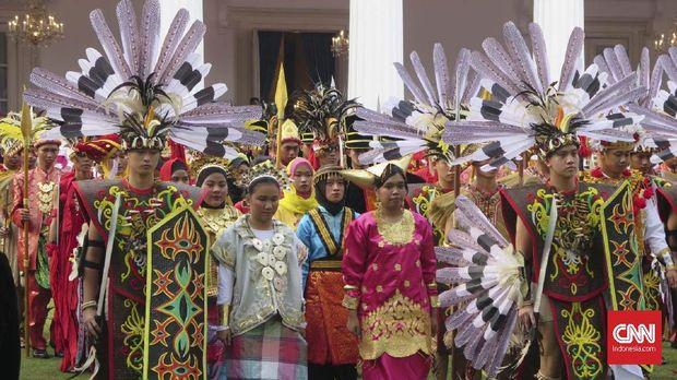 Hari Lahir Pancasila. Jokowi Serukan Kedewasaan Berdemokrasi