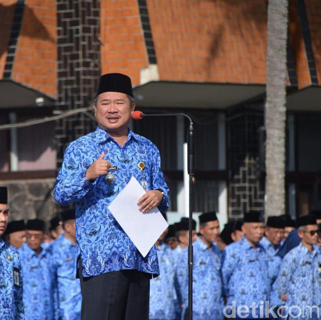 Pedagang di Pengkolan Garut Dipindah ke Gedung PKL