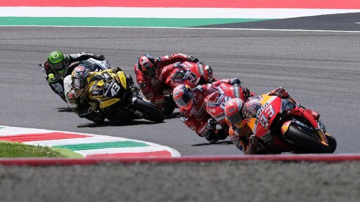 MotoGP Catalunya akan menyuguhkan lagi duel Marc Marque dengan rider-rider Ducati? (REUTERS/Rafael Marrodan)