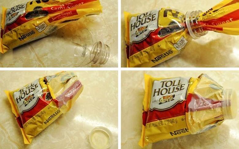 Gak ada karet? bisa pakai tutup botol ini untuk menutup kemasan makanan plastik. (Foto: Brightside)