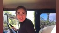 Bikin Ngilu, Celine Evangelista Naik Jip di Bromo saat Hamil