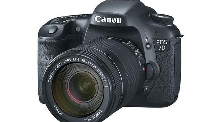 canon eos 7D. (Foto: istimewa)