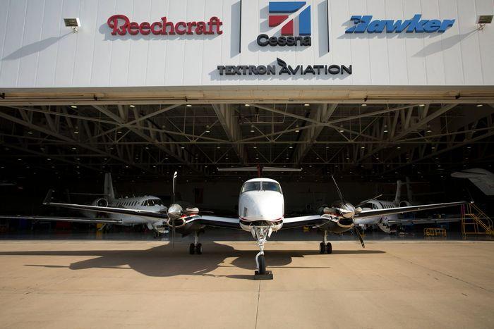 1. Ini adalah service center pesawat-pesawat buatan Textron di Doncaster, Britania Raya. (Foto/Dok. Textron Aviation).
