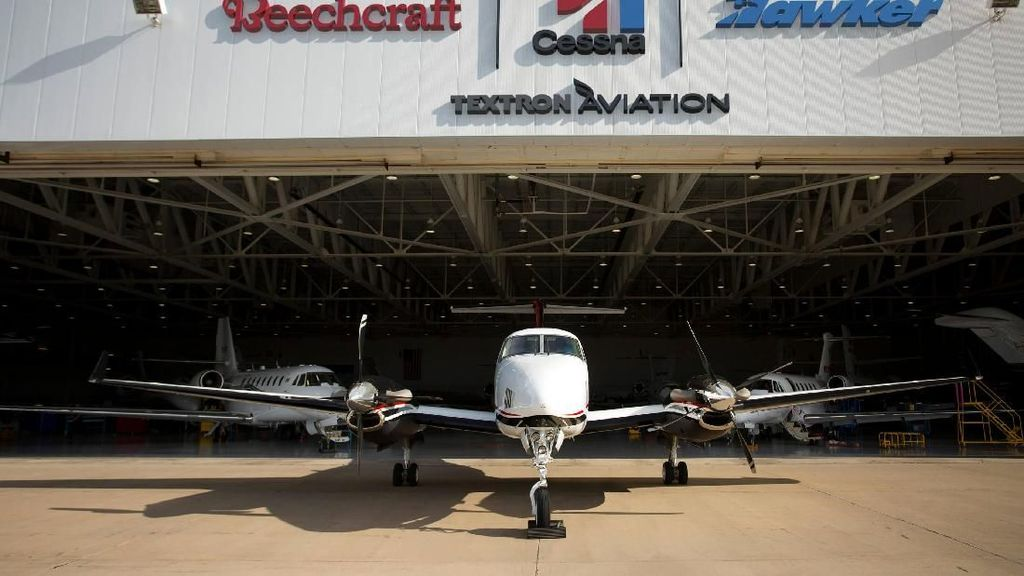 Mengintip Pabrik Pesawat Cessna yang Viral Dipakai Kapten Vincent
