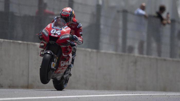 Pebalap Ducati Andrea Dovizioso membuat rekor top speed di MotoGP. (Foto: Mirco Lazzari gp/Getty Images)