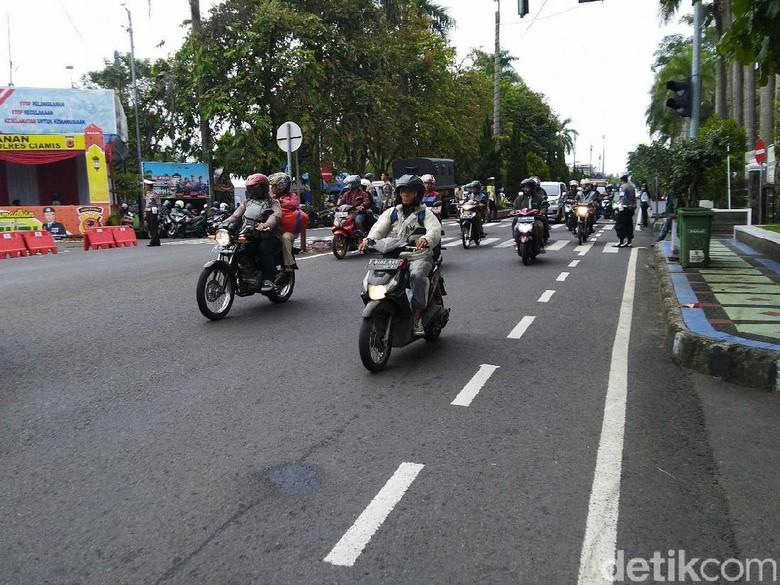 Jelang Puncak Arus Mudik, Polisi Ciamis Siaga di 6 Titik Kemacetan