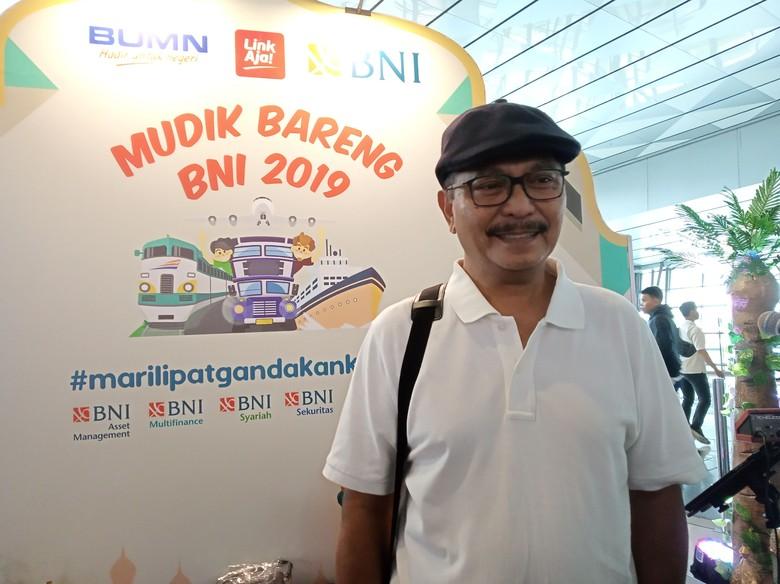 Tiket Pesawat Mahal, Dody Bahagia Bisa Mudik Gratis ke Yogyakarta