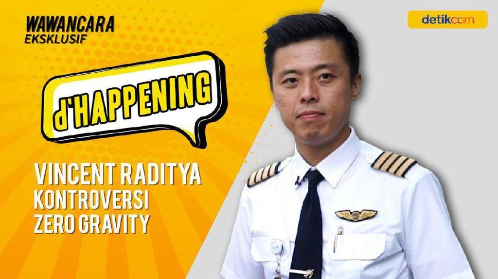 dHappening: Vincent Raditya dan Kontroversi Zero Gravity
