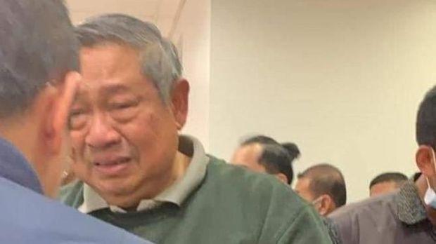 Viral SBY Nangis, Netizen Ikut Terenyuh
