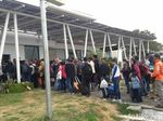 Diprediksi Puncak Arus Mudik, Ratusan TKI Malaysia Tiba di Bandara Banyuwangi