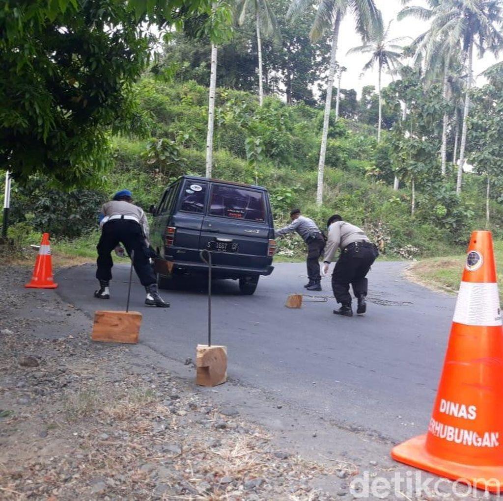 Antisipasi Laka di Tanjakan Sigro Tuban Saat Mudik, Ini yang Dilakukan Polisi