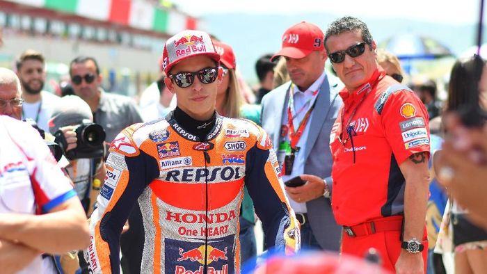 Rider Honda, Marc Marquez. (Foto: Rafael Marrodan/Reuters)