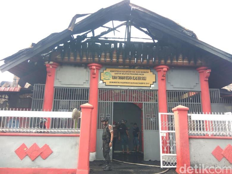 Polisi Tetapkan 4 Napi sebagai Tersangka Pembakar Rutan Sigli Aceh